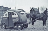 Rockcliffe Dairy cart and horse